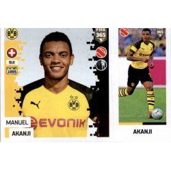 Manuel Akanji - Borussia Dortmund 182