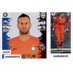 Samir Handanović - Internazionale Milan 208Panini FIFA 365 2019 Sticker Collection
