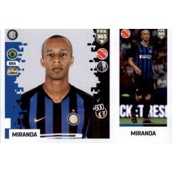 Miranda - Internazionale Milan 209Panini FIFA 365 2019 Sticker Collection