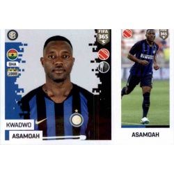 Kwadwo Asamoah - Internazionale Milan 210Panini FIFA 365 2019 Sticker Collection