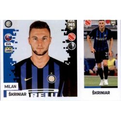Milan Škriniar - Internazionale Milan 213Panini FIFA 365 2019 Sticker Collection