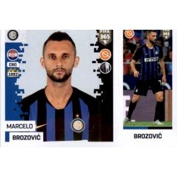 Marcelo Brozović - Internazionale Milan 214Panini FIFA 365 2019 Sticker Collection