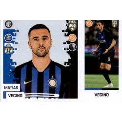 Matías Vecino - Internazionale Milan 215Panini FIFA 365 2019 Sticker Collection