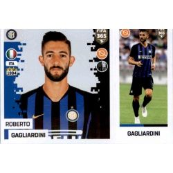 Roberto Gagliardini - Internazionale Milan 216Panini FIFA 365 2019 Sticker Collection