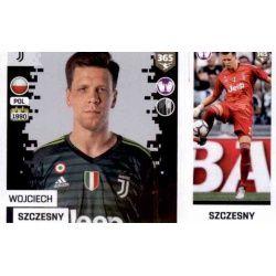Wojciech Szczesny - Juventus 224 Panini FIFA 365 2019 Sticker Collection