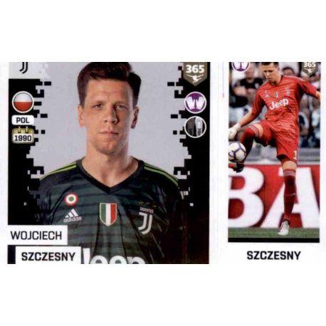 f33d91aaa Panini FIFA 365 2019 Sticker Collection Wojciech Szczesny - Juventus 224.  Wojciech Szczesny - Juventus 224