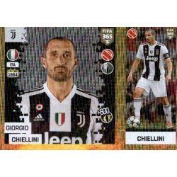Giorgio Chiellini - Juventus 225 Panini FIFA 365 2019 Sticker Collection