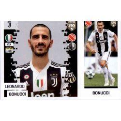 Leonardo Bonucci - Juventus 226 Panini FIFA 365 2019 Sticker Collection