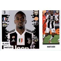 Blaise Matuidi - Juventus 231 Panini FIFA 365 2019 Sticker Collection