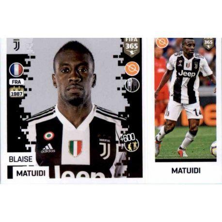 978e9f35f Panini FIFA 365 2019 Sticker Collection Blaise Matuidi - Juventus 231. Blaise  Matuidi - Juventus 231