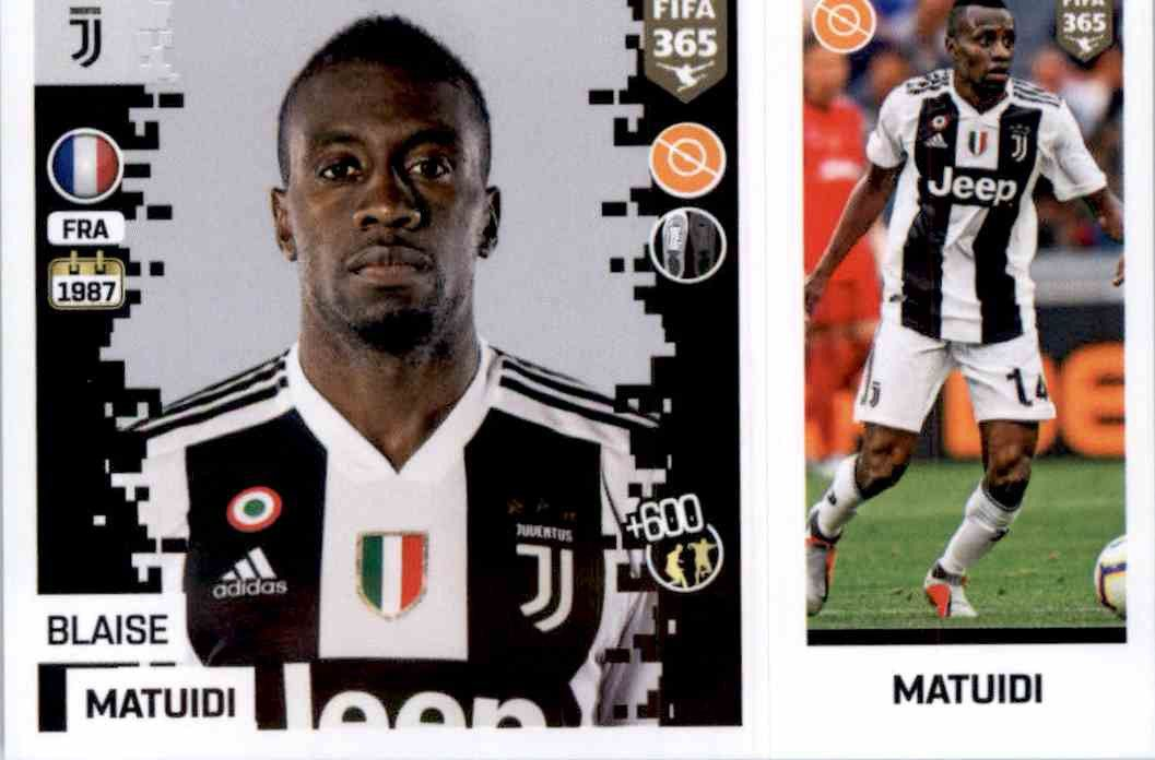 d3cc9018a Buy Stickers Blaise Matuidi del Juventus Fifa 365 Stickers 2019