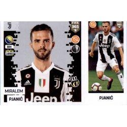 Miralem Pjanić - Juventus 232 Panini FIFA 365 2019 Sticker Collection