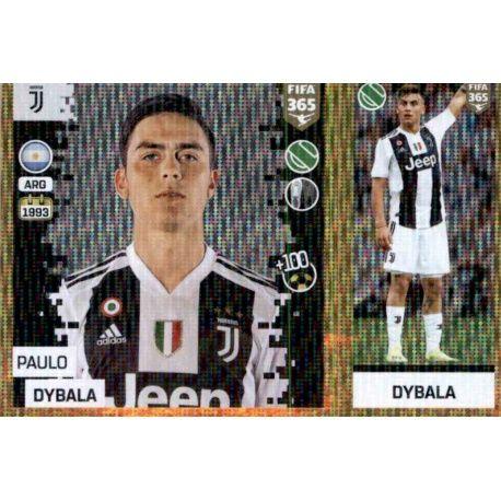 72feb85f2 Panini FIFA 365 2019 Sticker Collection Paulo Dybala - Juventus 239. Paulo  Dybala - Juventus 239