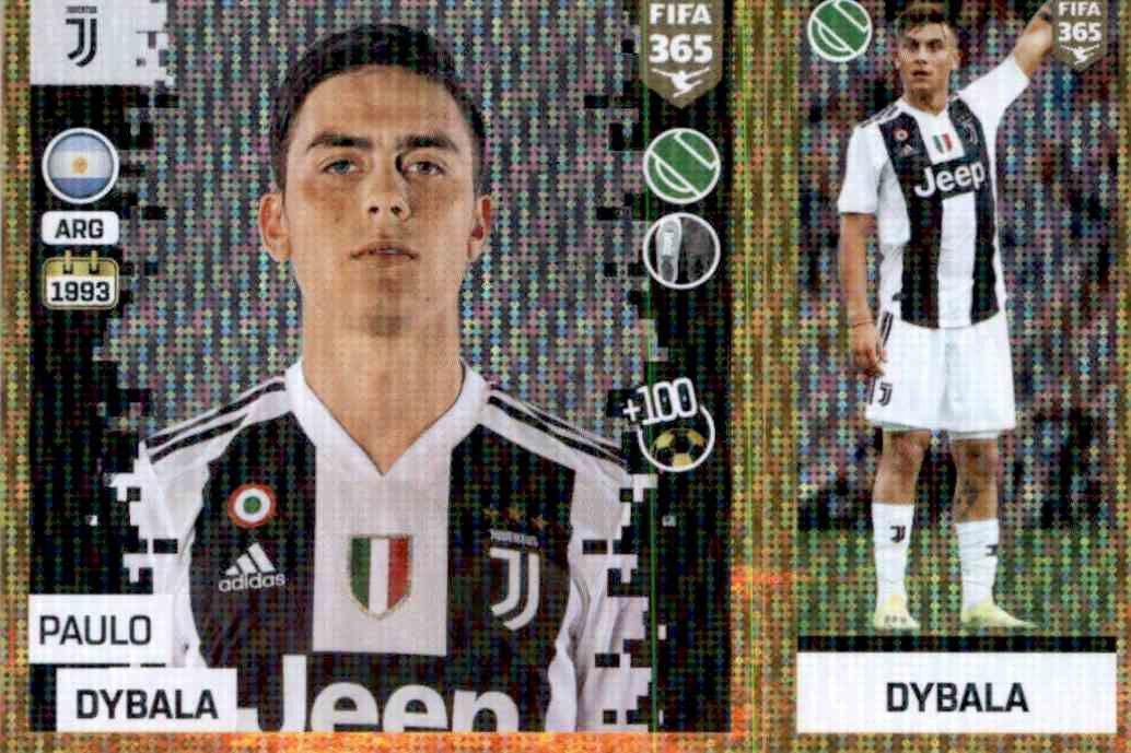 16b41b0cf Buy Stickers Paulo Dybala del Juventus Fifa 365 Stickers 2019