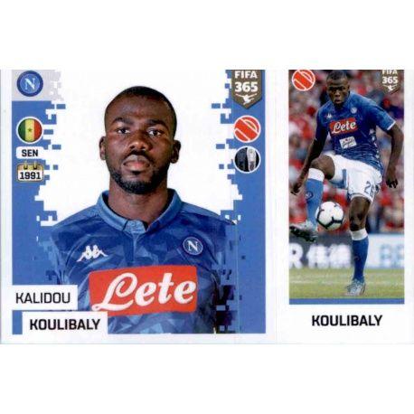 9f4b80e8866d8 Buy Online Kalidou Koulibaly del SSC Napoli Panini Fifa 365 Stickers ...