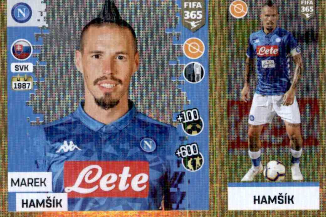 TOPPS Champions League 18//19 STICKER 252-MAREK HAMSIK