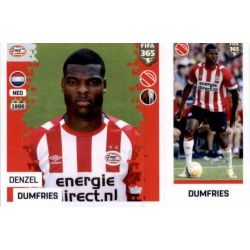 Denzel Dumfries - PSV Eindhoven 258 Panini FIFA 365 2019 Sticker Collection