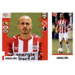 Angeliño - PSV Eindhoven 261 Panini FIFA 365 2019 Sticker Collection