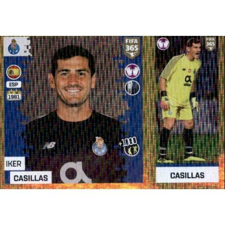 48627d5654eaf Buy Online Iker Casillas del FC Porto Fifa 365 Stickers 2019