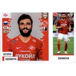 Georgi Dzhikiya - FC Spartak Moskva 292