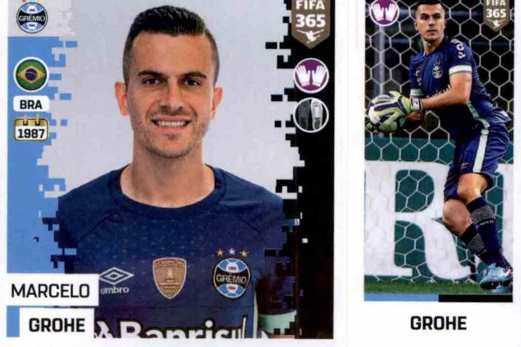 Bruno Cortez Gremio Sticker 340 a//b Panini FIFA365 2019