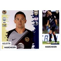 Agustín Marchesín - Club América 368 Panini FIFA 365 2019 Sticker Collection