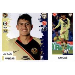 Carlos Vargas - Club América 369 Panini FIFA 365 2019 Sticker Collection