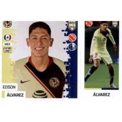 Edson Álvarez - Club América 370 Panini FIFA 365 2019 Sticker Collection