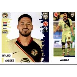Bruno Valdez - Club América 372 Panini FIFA 365 2019 Sticker Collection