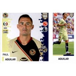 Paul Aguilar - Club América 373 Panini FIFA 365 2019 Sticker Collection