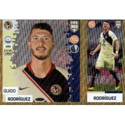 Guido Rodríguez - Club América 374 Panini FIFA 365 2019 Sticker Collection
