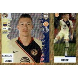 Mateus Uribe - Club América 375 Panini FIFA 365 2019 Sticker Collection