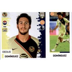 Cecilio Domínguez - Club América 376 Panini FIFA 365 2019 Sticker Collection