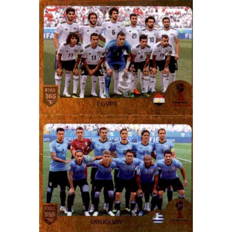 Uruguay Group A gold No Panini FIFA 365 2019 Egypt 401