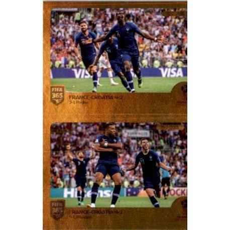 Panini FIFA365 2019 Sticker 416 a//b first  goal//penalty after VAR-Highlights