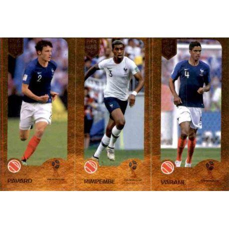 ab427b9d362 Buy Online Benjamin Pavard / Presnel Kimpembe / Raphaël Varane del ...