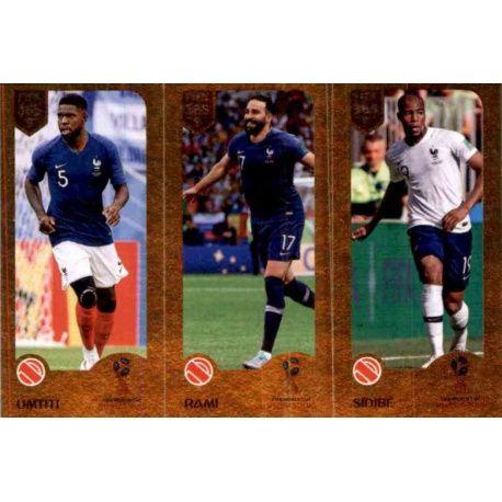 0605d04358d Sale Stickers Online Samuel Umtiti / Adil Rami / Djibril Sidibé del ...