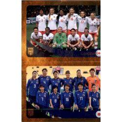 Canada /Japan 444 Panini FIFA 365 2019 Sticker Collection