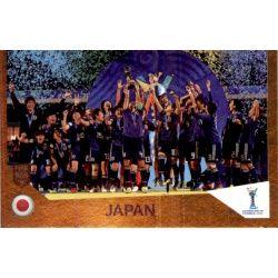 Japan - Winner 446 Panini FIFA 365 2019 Sticker Collection