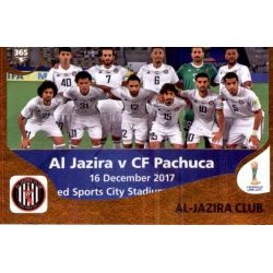 Al-Jazira Club 453 Panini FIFA 365 2019 Sticker Collection