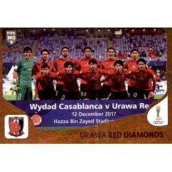 Urawa Red Diamonds 454 Panini FIFA 365 2019 Sticker Collection