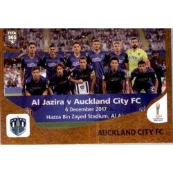Auckland City FC 456 Panini FIFA 365 2019 Sticker Collection
