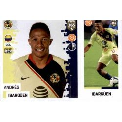 Andrés Ibargüen - Club América 377 Panini FIFA 365 2019 Sticker Collection