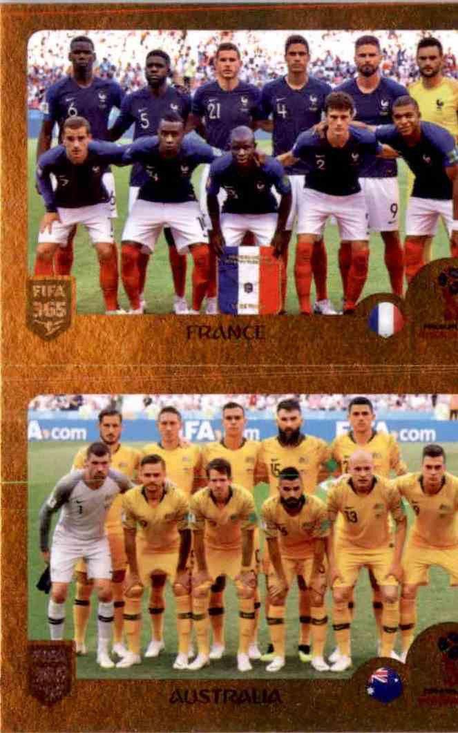 Fekir // Thauvin // Deschamps Champions Sticker 433 a//b Panini FIFA365 2019