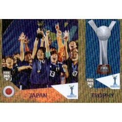 Japan / Trophy 445 Panini FIFA 365 2019 Sticker Collection