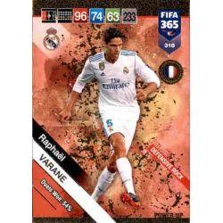 Raphaël Varane Defensive Rock 310 FIFA 365 Adrenalyn XL