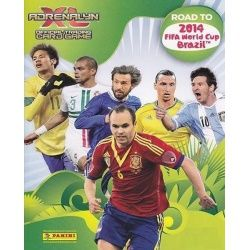 Colección Panini Adrenalyn XL Road To 2014 Brazil