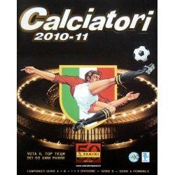 Colección Panini Calciatori 2010-11 Colecciones Completas
