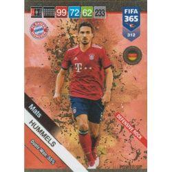 Mats Hummels Defensive Rock 312 FIFA 365 Adrenalyn XL