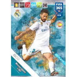 Isco Key Players 319 FIFA 365 Adrenalyn XL